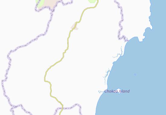Kaart Plattegrond Binga