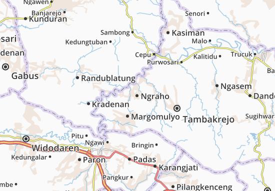 Ngraho Map