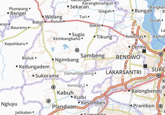 Mappe-Piantine Mantup