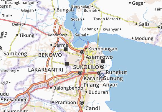 Carte-Plan Suko Manunggal