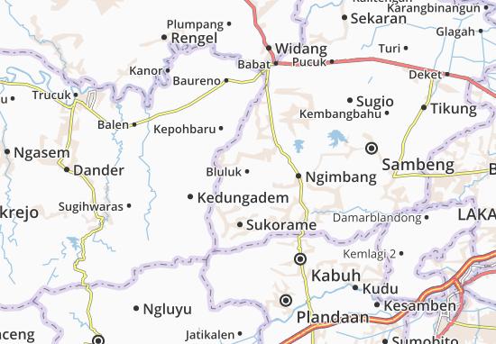 Bluluk Map