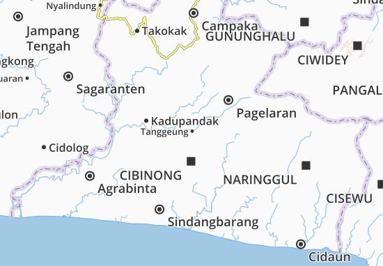 Tanggeung Map