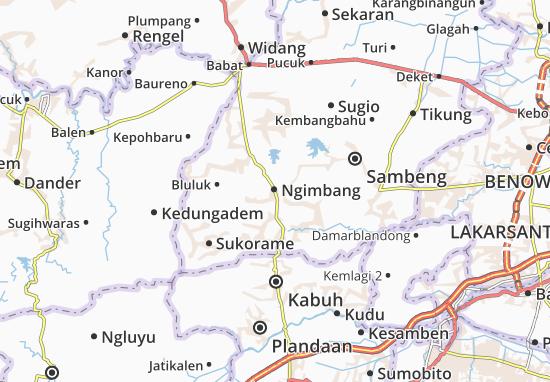 Mappe-Piantine Ngimbang