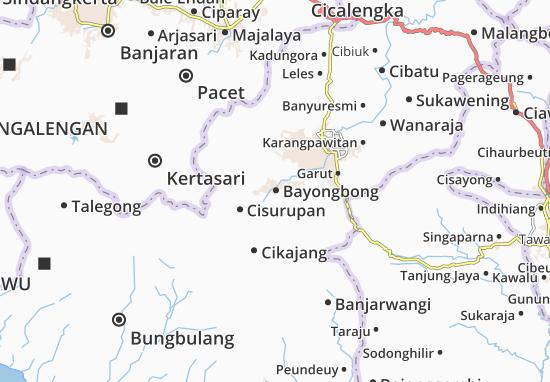 Bayongbong Map