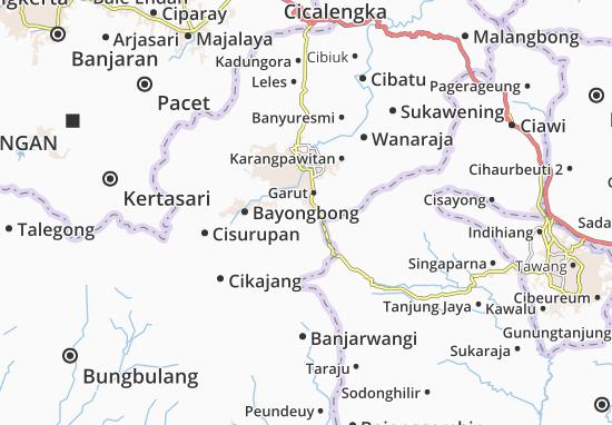 Carte-Plan Cilawu