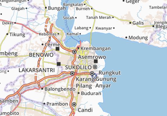 Gubeng Map