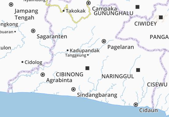 Cibinong Map