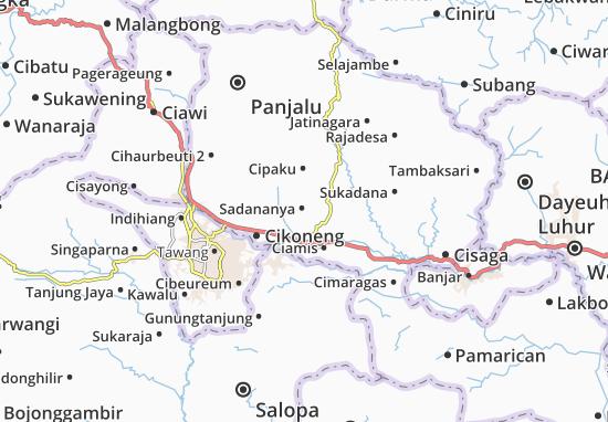 Sadananya Map