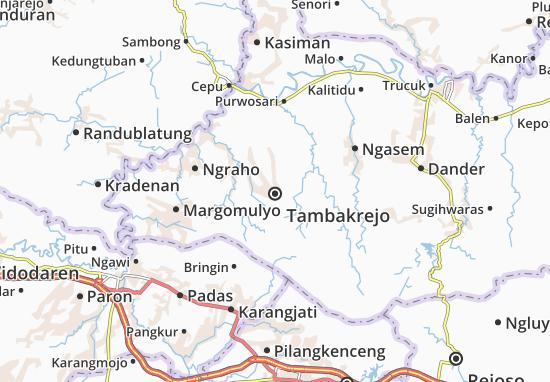 Tambakrejo Map