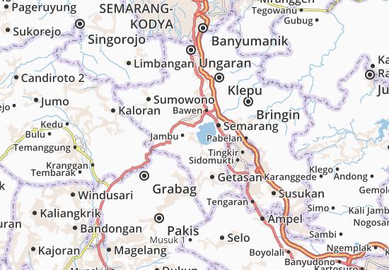 Banyubiru Map