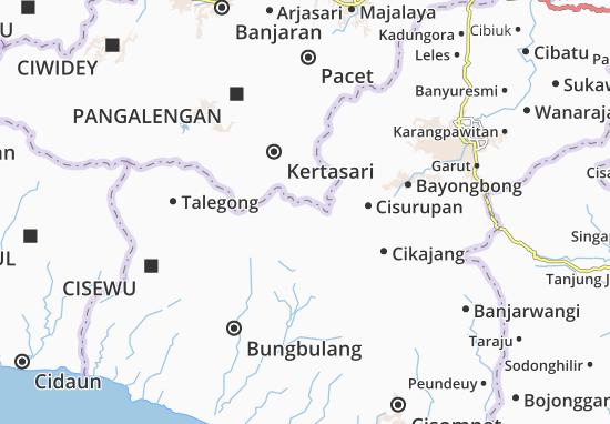 Mapa Pamulihan