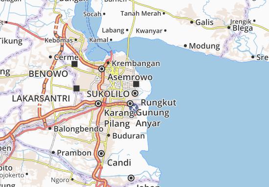 Rungkut Map