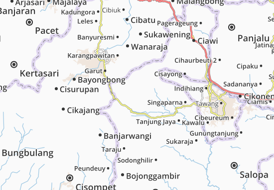 Cigalontang Map