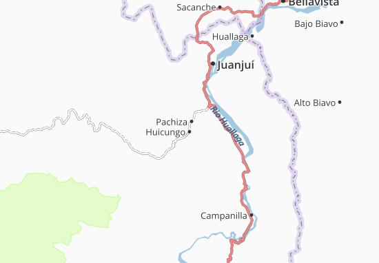 Huicungo Map