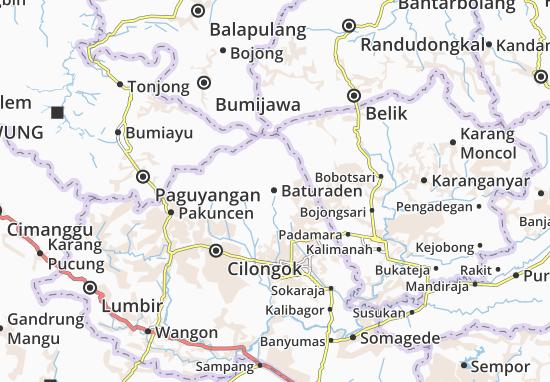 Baturaden Map