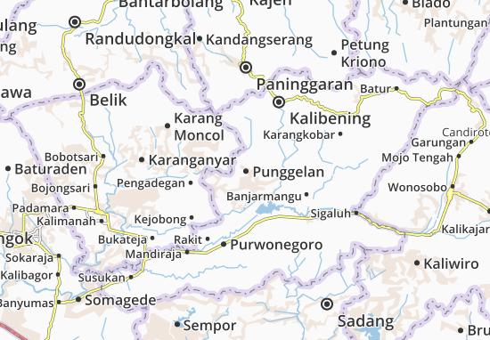 Punggelan Map