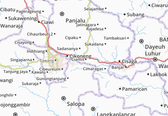 Ciamis Map