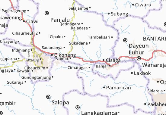 Cijeungjing Map
