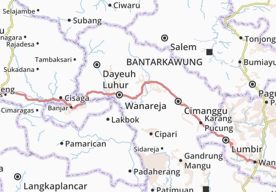 Majenang Map