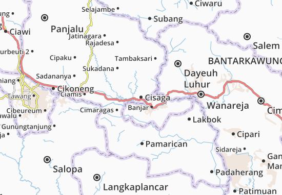 Cisaga Map