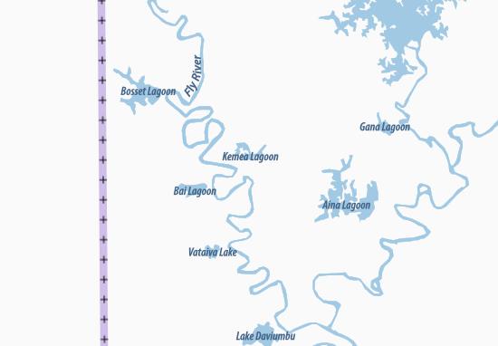 Mapa Plano Aiambak