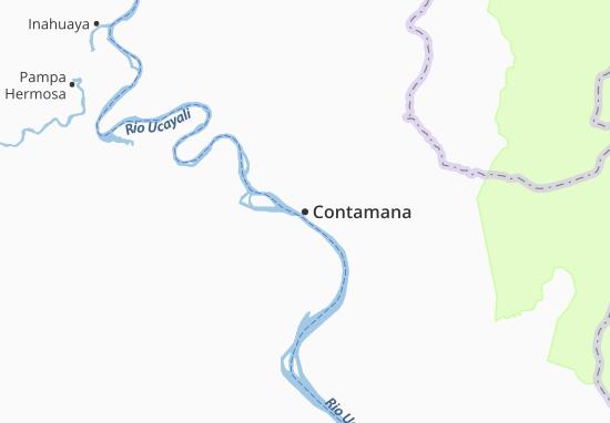 Carte-Plan Contamana