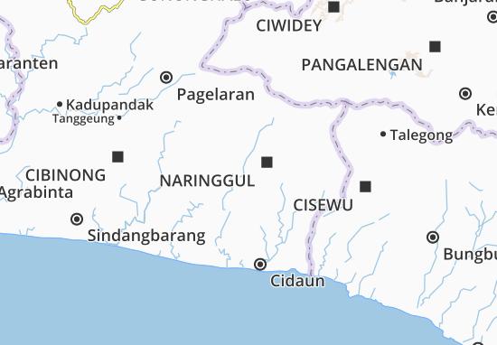 Mapa Naringgul