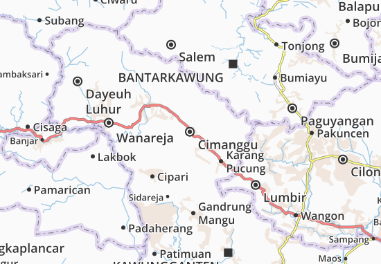 Carte-Plan Cimanggu