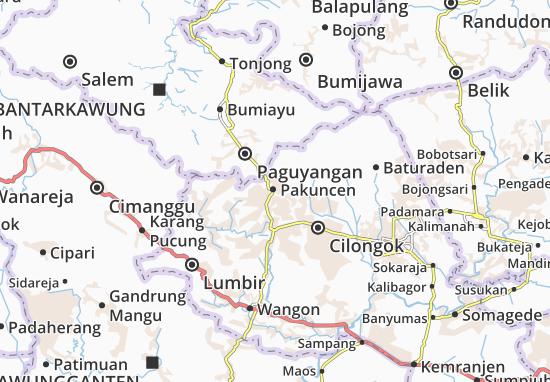 Mappe-Piantine Pakuncen