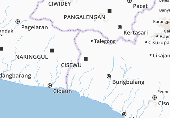 Cisewu Map