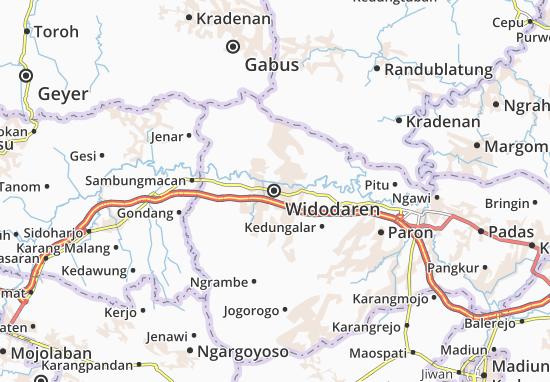 Widodaren Map