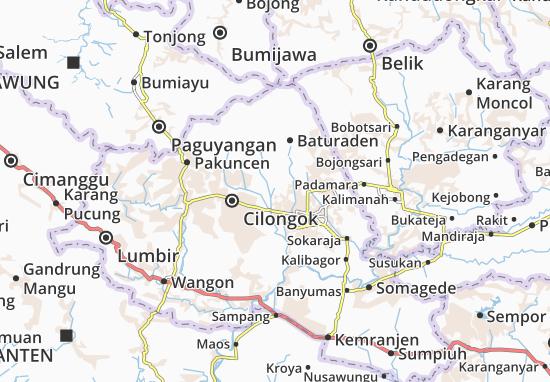 Kedung Banteng Map
