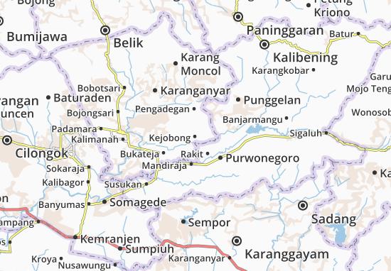 Kejobong Map