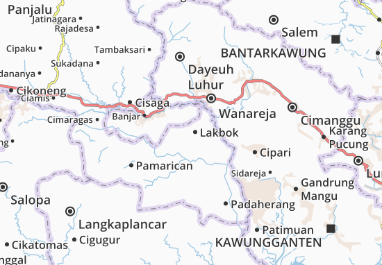 Lakbok Map