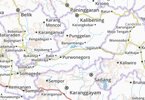 Bawang Map