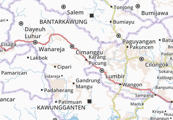 Karang Pucung Map