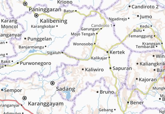 Leksono Map