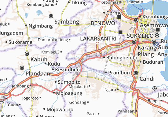 Mojokerto-Kodya Map