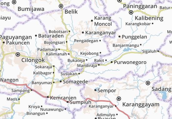 Bukateja Map