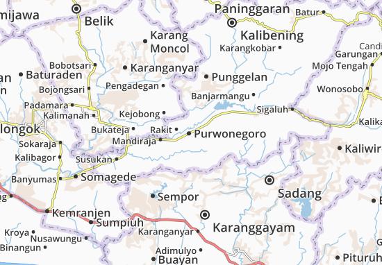 Purwonegoro Map