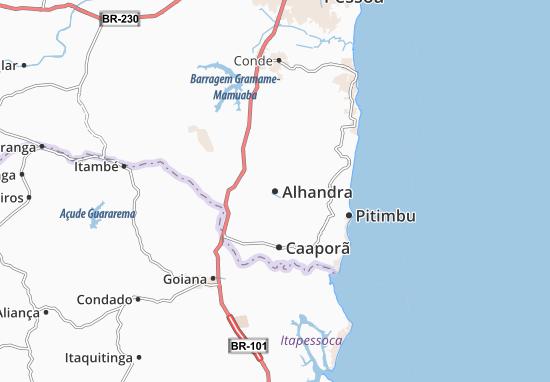 Alhandra Map