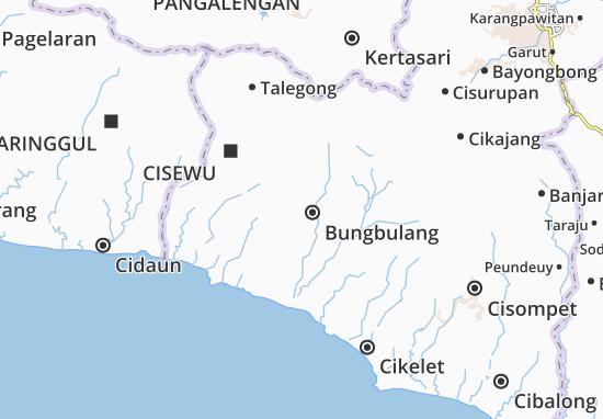 Mapa Bungbulang