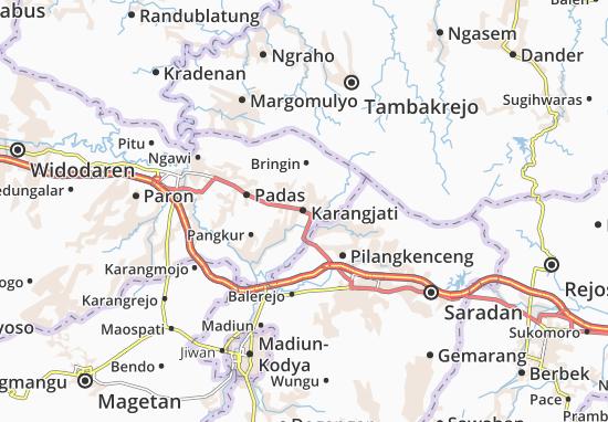 Mappe-Piantine Karangjati