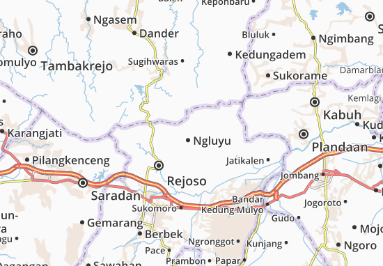 Ngluyu Map