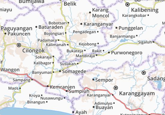 Purworejo Klampo Map