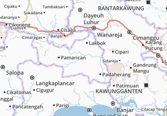Banjarsari Map