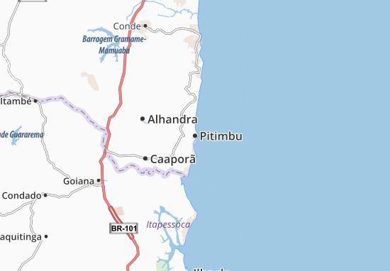 Pitimbu Map
