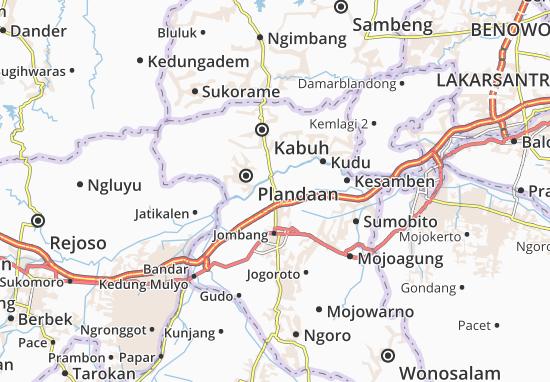 Tembelang Map