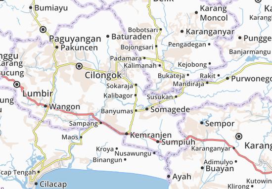 Kalibagor Map
