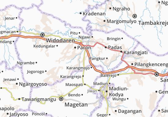 Geneng Map